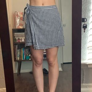 Abercrombie and Fitch Mini wrap skirt